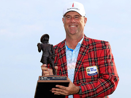 Stewart Cink claims eighth PGA TOUR title at 2021 RBC Heritage