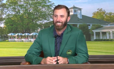Dustin Johnson one-liners during press conferences