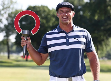 Bryson DeChambeau overpowers field to win at Rocket Mortgage