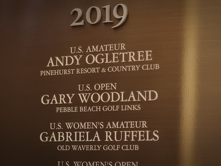 2019 USGA Champions Honored With Museum Plaque