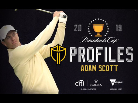 Presidents Cup Players Profiles: Adam Scott