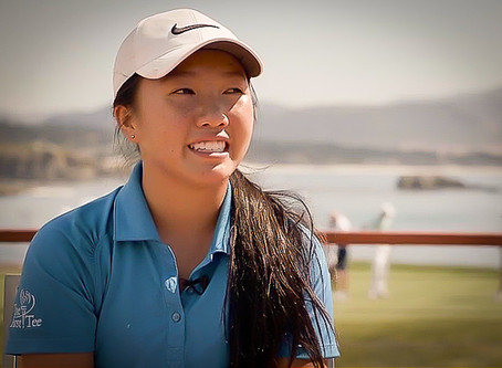 The incredible story of The First Tee participate Kayli