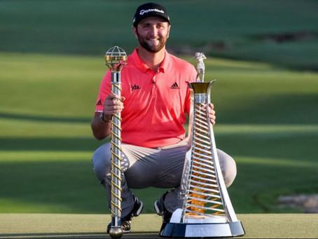 Jon Rahm captures World Tour Championship and Race to Dubai titles