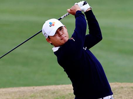 Si Woo Kim wins at The American Express