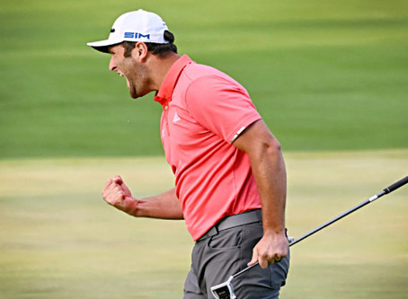 Jon Rahm's wins the 2020 BMW Championship