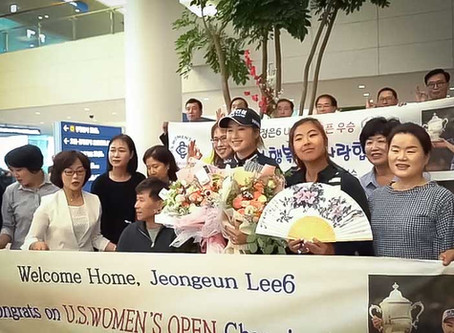 Joyful homecoming for 2019 U.S. Women's Open Champion Jeongeun Lee6