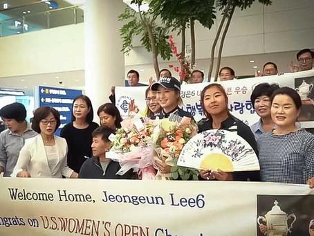 Joyful homecoming for 2019 U.S. Women's Open Champion Jeongeun Lee6