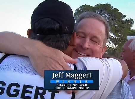 Jeff Maggert wins with a hole-out eagle at Charles Schwab Cup