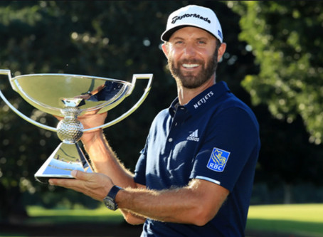Dustin Johnson wins TOUR Championship and FedExCup
