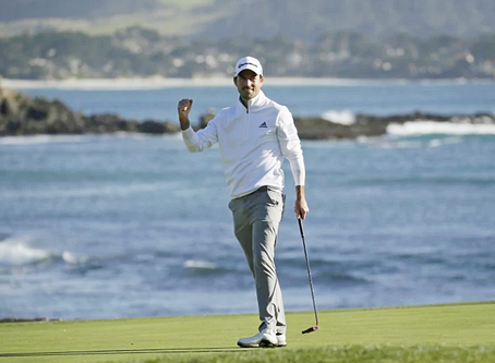 UW'S Nick Taylor goes wire-to-wire to win at AT&T Pebble Beach