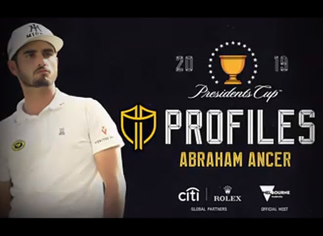 Presidents Cup Player Profiles: Abraham Ancer