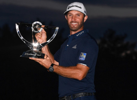 Dustin Johnson wins by 11 shots at THE NORTHERN TRUST