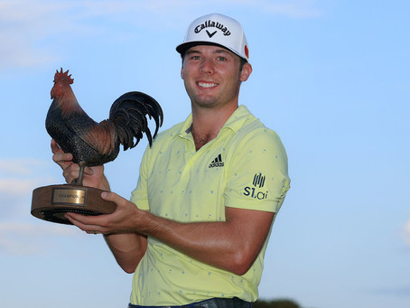 Sam Burns shoots 5-under on final day to win at Sanderson Farms