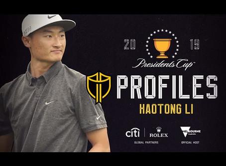 Presidents Cup Player Profiles: Haotong Li