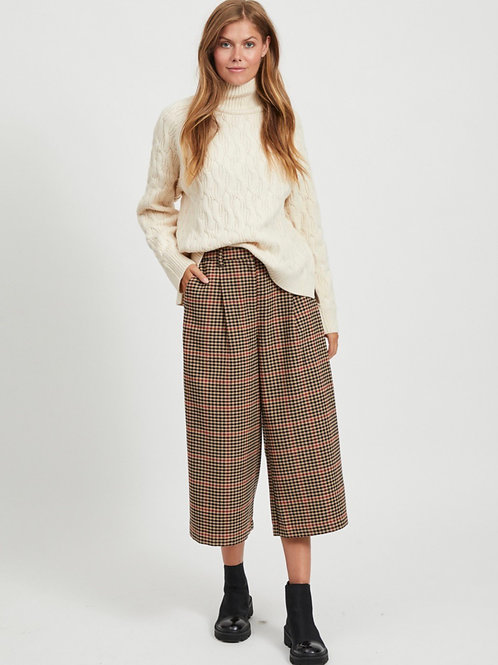 Cropped wide leg pant Object