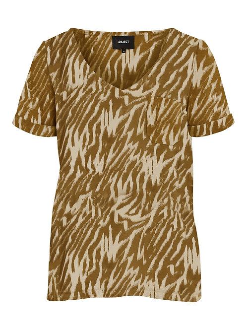 Safari print t-shirt Object