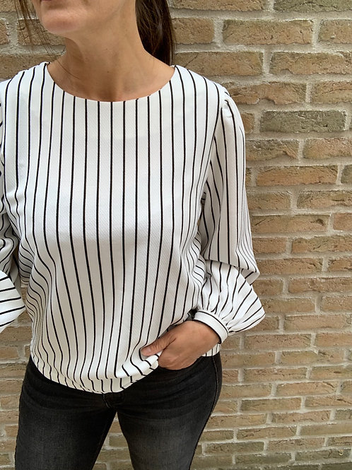 Strepen sweater bloes Object