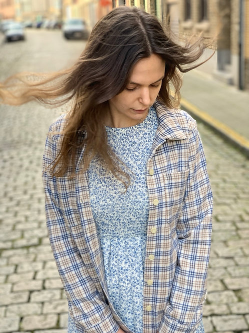 Bloes - overshirt extra soft van Nümph