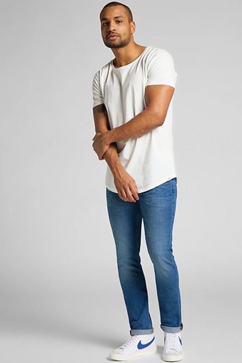 Luke slim tapered fresh jeans van Lee