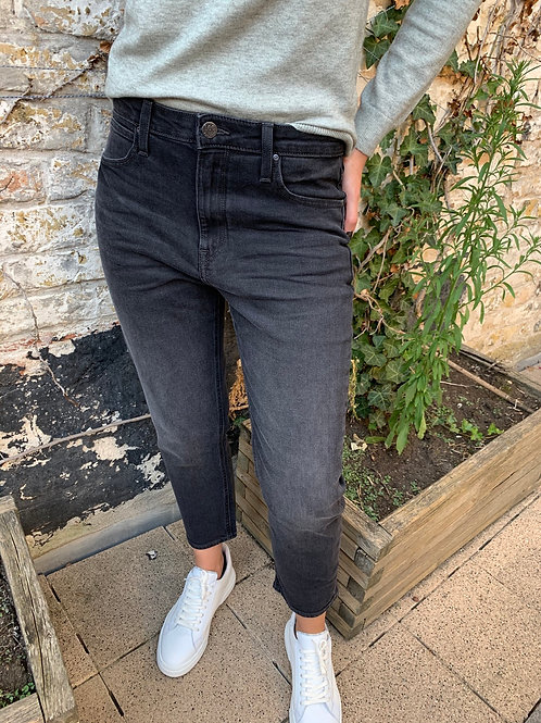 High rise straight cropped jeans Lee