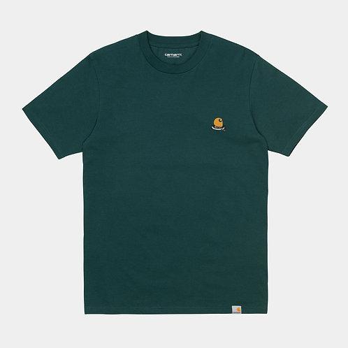 T-shirt korte mouw in organisch katoen Carhartt