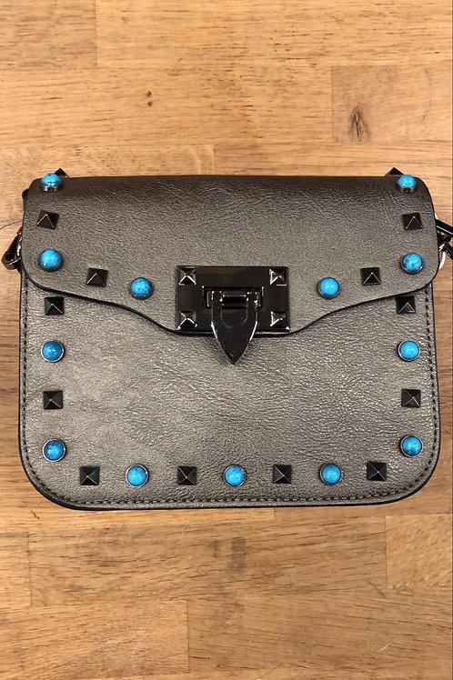 Handtasje met studs