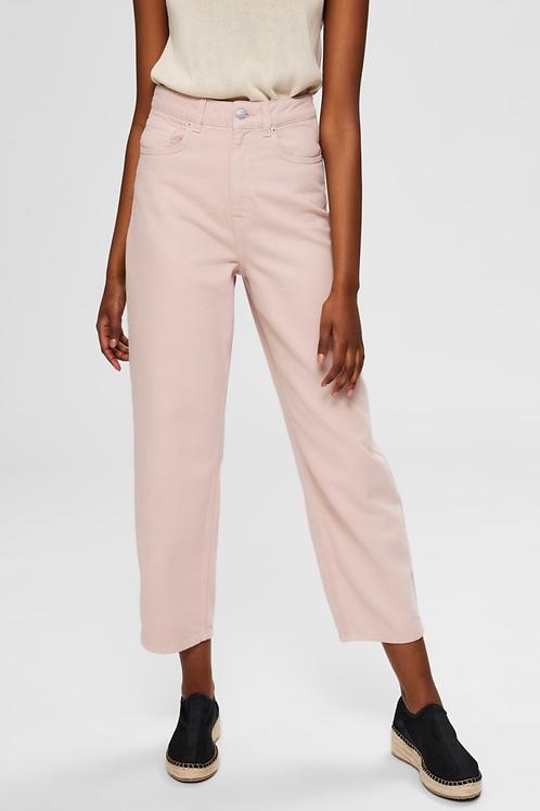 High waist eco cotton pant Selected Femme