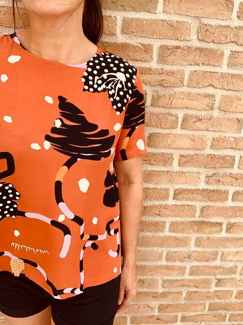 Artistieke bloes Selected Femme