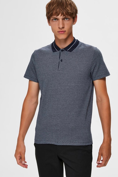 Polo met structuur Selected Homme