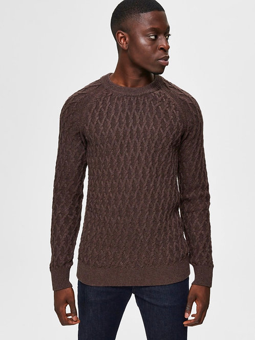 Cable knit Selected Homme