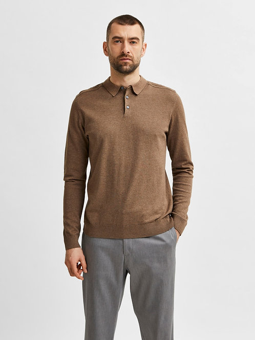 Polo pull Selected Homme