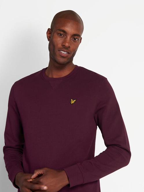 Sweater uni van Lyle & Scott