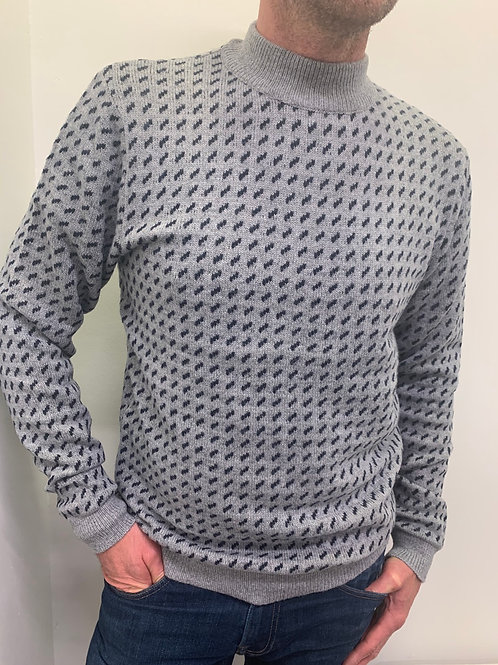 Pull in dessin brei Selected Homme