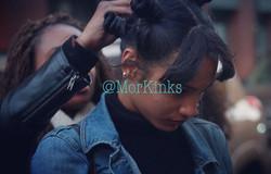 Amaany Clarke w/ Model