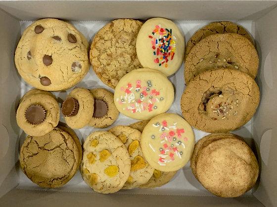 24 Cookie Variety Box