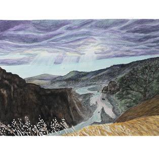 """Covalo 15"""" x 11"""" watercolor"""