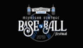 Vintage BaseBall Festival Logo - 2019 (1