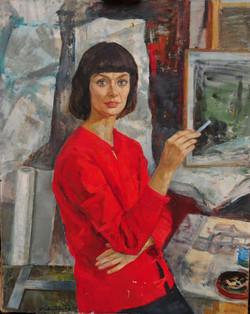 Портрет архитектора Тани Кашменской