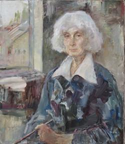 Автопортрет.х\м 2008