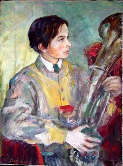 Мальчик с трубой.
