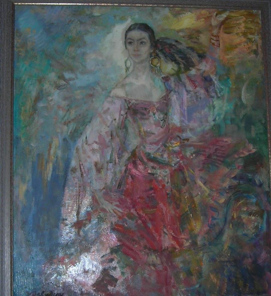 Ирина Генслер. 1996г. х/м 60х50