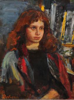 портрет Гали