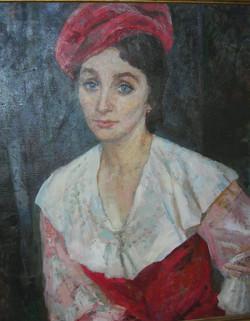 портрет н.а. России А. Шурановой