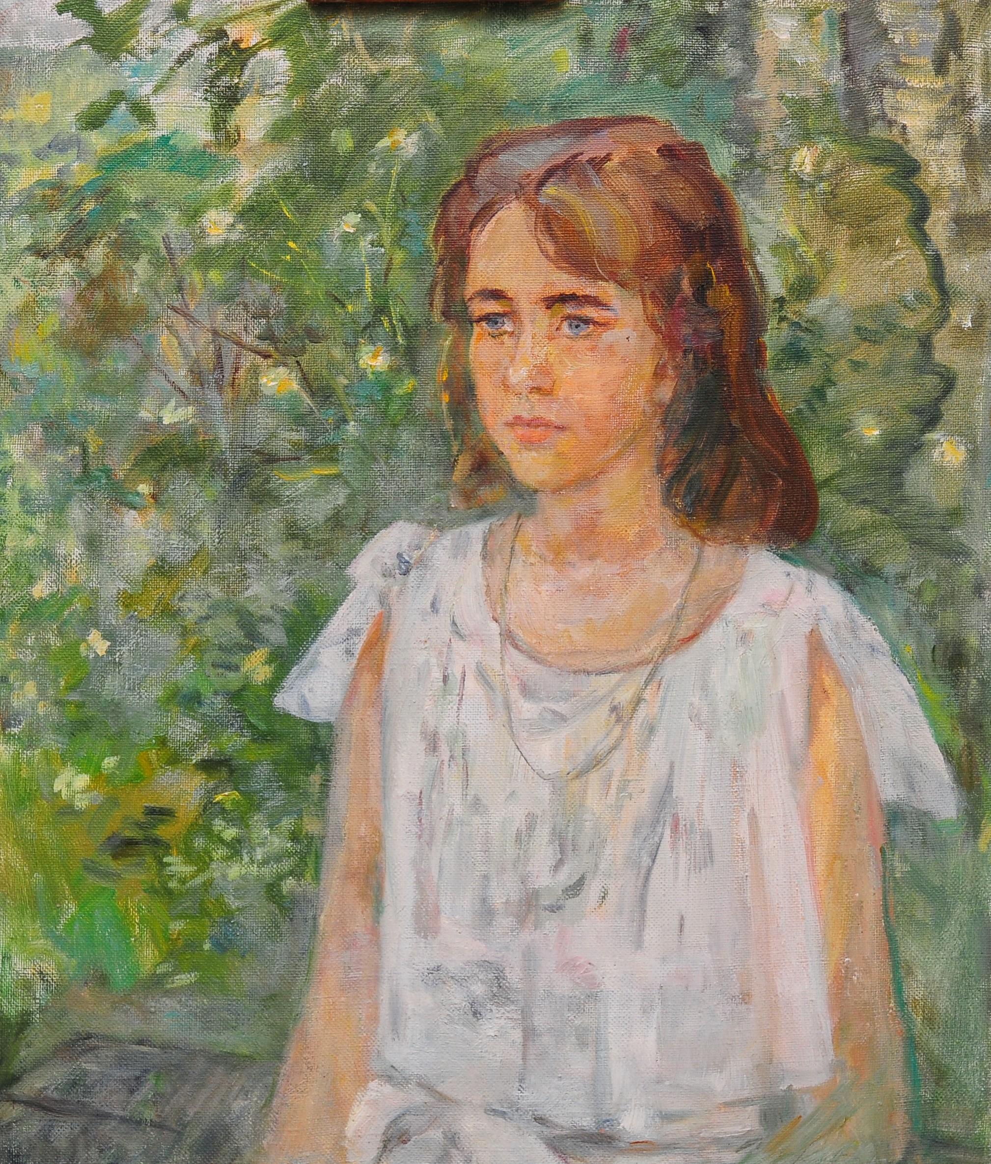 Глухонемая девочка.