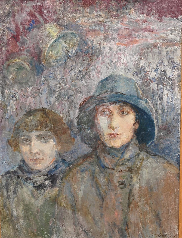 Ахматова и Цветаева.