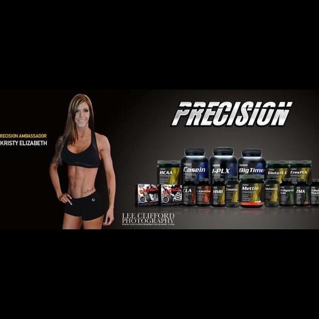 Team Precision banner feat. Kristy Elizabeth
