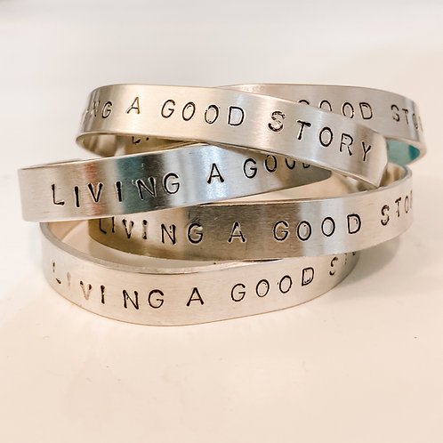 Living a Good Story Bracelet