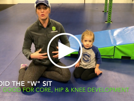 "Why Parents should avoid the dreaded ""W Sit"""