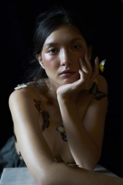 Noemi et les papillons