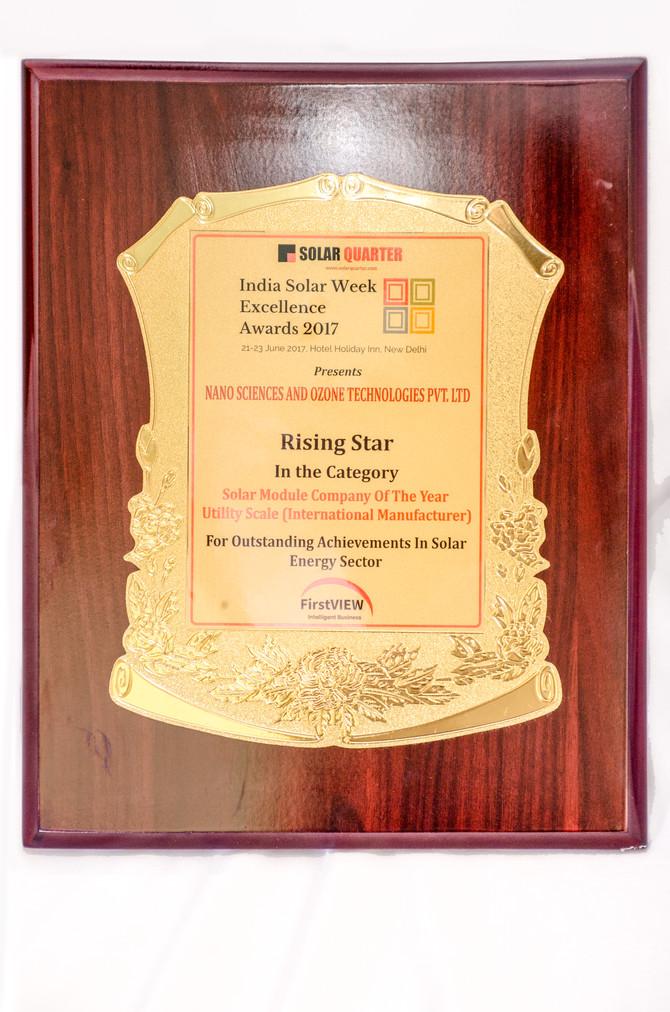 Solar Module Company of the Year (Foreign Manufacturer)
